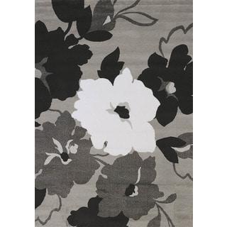 Cristall Jennie Grey Area Rug (7'10 x 10'6)