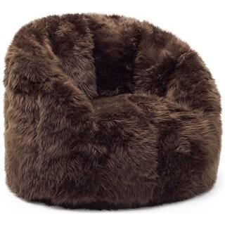 Big Joe Lux Milano Shag Fur Chair (4 options available)