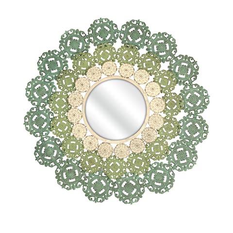 Mcguire Medallion Mirror - Green