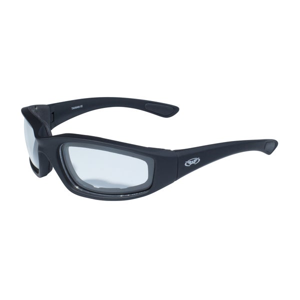 Global Vision Kickback Black Frame with EVA Padding Lens Eyewear