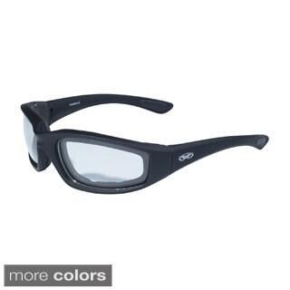Global Vision Kickback Black Frame with EVA Padding Lens Eyewear