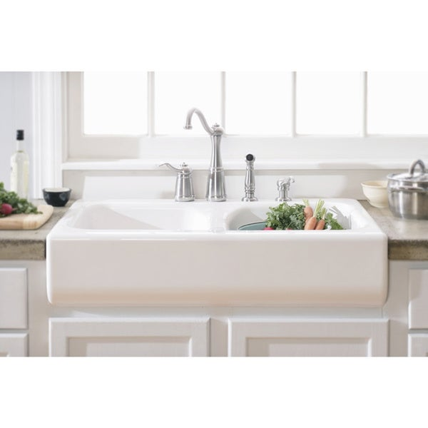Designer Sink top product reviews for lyons deluxe designer white apron front