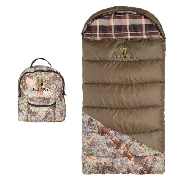 King's Hunter Series Jr. Youth Sleeping Bag - Desert Shadow Camo