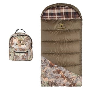 King's Hunter Series Jr. Youth Sleeping Bag - Desert Shadow Camo