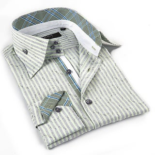 Coogi Luxe Men's Green/ Multi-colored Button Down Dress Shirt|https://ak1.ostkcdn.com/images/products/9539311/P16718730.jpg?_ostk_perf_=percv&impolicy=medium