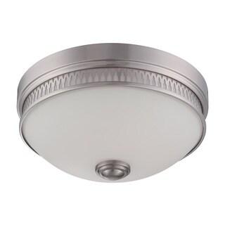 Nuvo Harper 1 Light LED Flush Mount