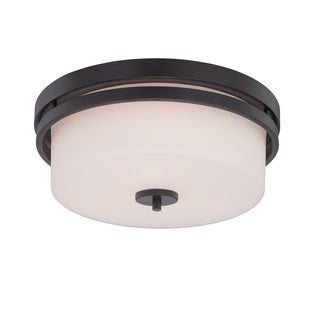 Nuvo Parallel 3 Light Flush Mount