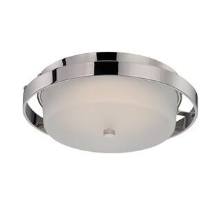Nuvo Cirque 1 Light LED Flush Mount
