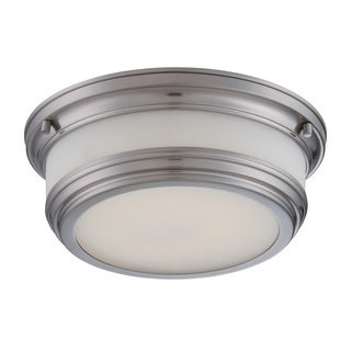 Nuvo Dawson 1 Light LED Flush Mount