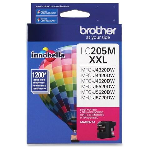 Brother Genuine Innobella LC205M Super High Yield Magenta Ink Cartrid