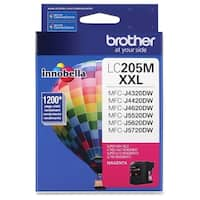 Brother Genuine Innobella LC205M Super High Yield Magenta Ink Cartrid