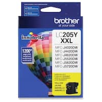 Brother Genuine Innobella LC205Y Super High Yield Yellow Ink Cartridg