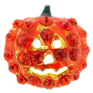 Hyacinth Pumpkin Halloween Lapel Pin