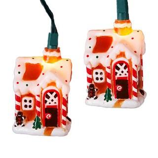 Kurt Adler 10-light Gingerbread House Light Set