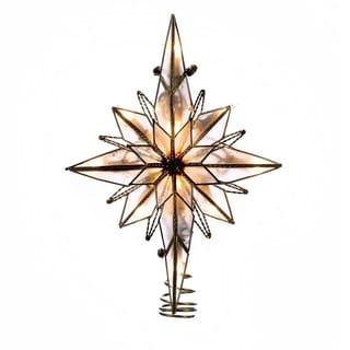 Kurt Adler 10-light Multi-pointed Bethlehem Star Treetop