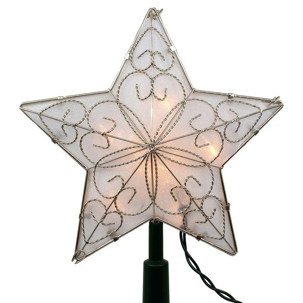Shop Kurt Adler 8.5-Inch Indoor UL Star Treetop