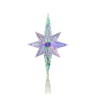 Kurt Adler 11.25-inch UL Polar Star Treetop with LED Color-changing Light
