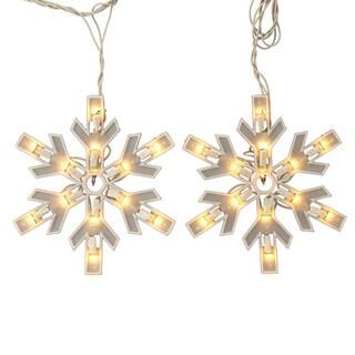 Kurt Adler UL 150-light Snowflake Miniature Light Set