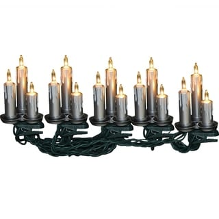 Kurt Adler 15-light Triple Candle Light Set
