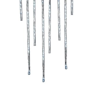 Kurt Adler Indoor/Outdoor 144-light Winter White Meteor Shower LED Light Sticks