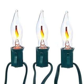 Kurt Adler 10-light Flicker Flame Light Set