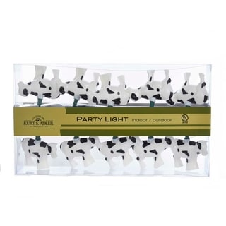 Kurt Adler 10-Light Cow Light Set