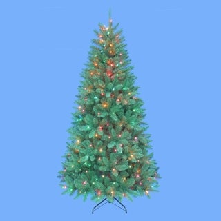 Kurt Adler 7-foot Pre-lit Point Pine Tree