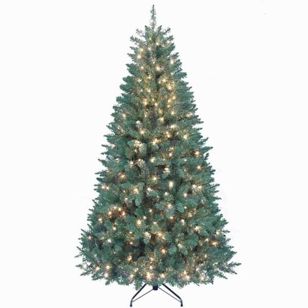 Shop Kurt Adler 7-foot Pre-lit Point Pine Tree - Free Shipping Today ...
