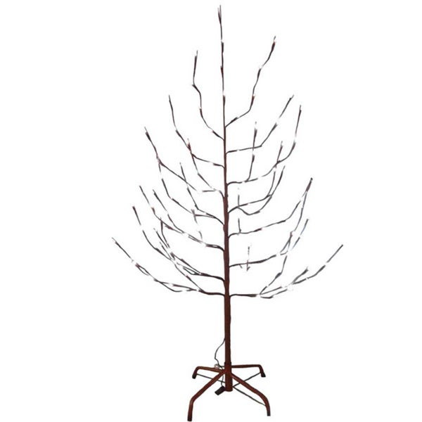 Shop Kurt Adler 6 Foot Brown Twig Tree With LED Twinkle Lights