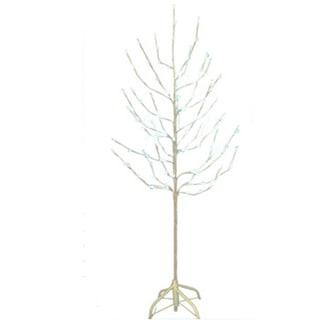 Kurt Adler 6 Inch Sparkling Silver Hanukkah Plastic Tree Top No Model