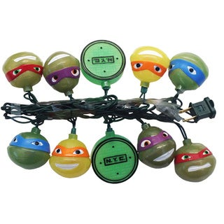 Kurt Adler UL 10-light Teenage Mutant Ninja Turtles Light Set