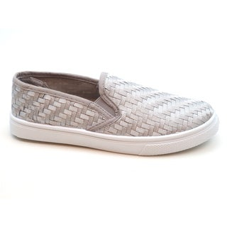 Blue Women's 'Veave 2' Woven Canvas Flats