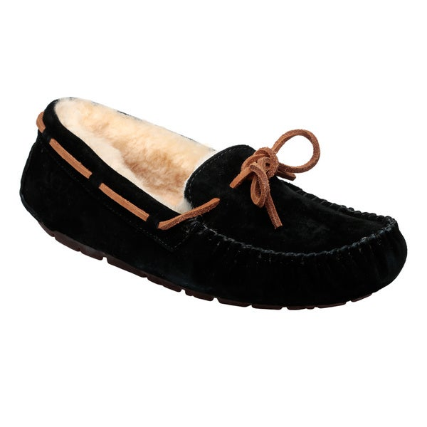 8a969914b71 Shop Ugg Australia Women's 'Dakota' Leather Slipper Moccasins - Free ...