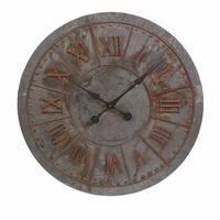 Gilbert Galvanized Clock