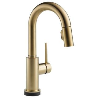 Delta Trinsic Single Handle Pull-down Bar/ Prep Faucet Featuring Touch2O(R) Technology