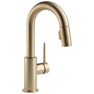 Delta Trinsic Single Handle Pull-Down Bar / Prep Faucet 9959-CZ-DST Champagne Bronze