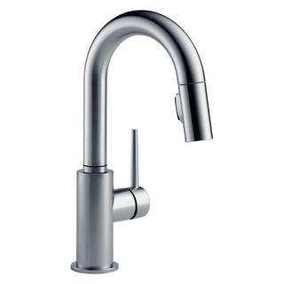 Delta Trinsic Arctic Stainless Single Handle Pull-down Bar/ Prep Faucet