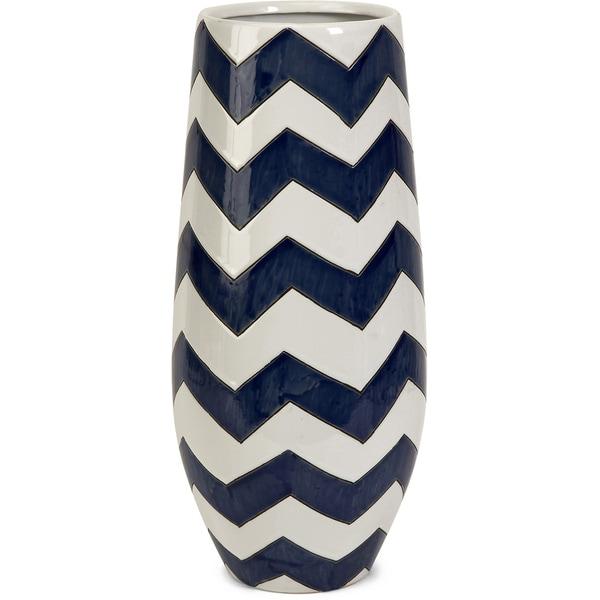 Chevron Short Vase   16718923 Great Deals