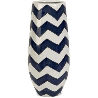 Chevron Short Vase