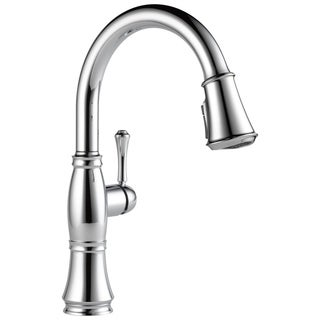 Delta Cassidy Single Handle Pull Down Kitchen Faucet 9197 DST Chrome
