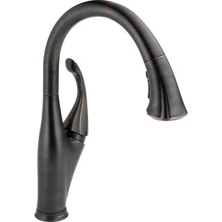 Delta Addison Single Handle Pull-down Kitchen Faucet with Touch2O(R) Technology
