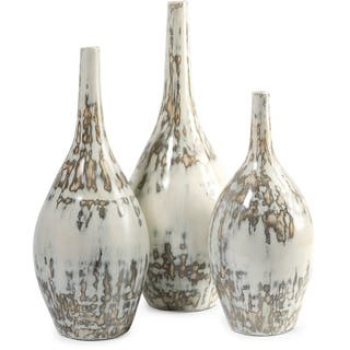 Hampton Mexican Pottery Vases (Set of 3)|https://ak1.ostkcdn.com/images/products/9540193/P16718929.jpg?impolicy=medium