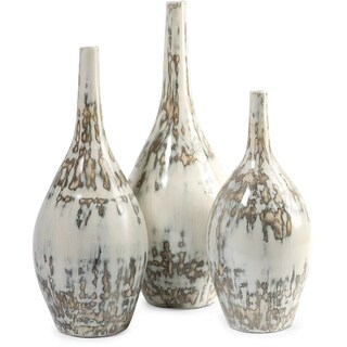 Hampton Mexican Pottery Vases (Set of 3)