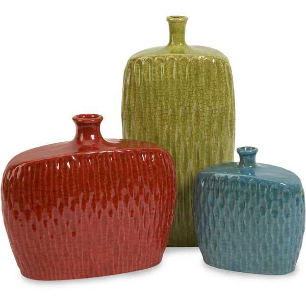 The Curated Nomad Luna Vases (Set of 3)