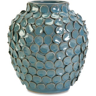 Agean Short Ceramic Vase
