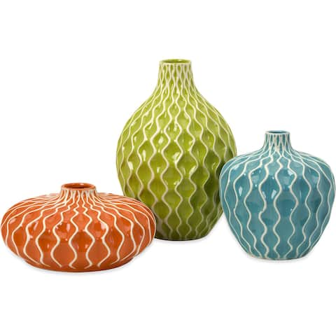 Agatha Ceramic Vases (Set of 3)