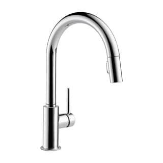 Delta Trinsic Single Handle Pull-Down Kitchen Faucet 9159-DST Chrome