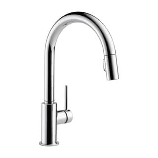 Delta Trinsic Chrome Single Handle Pull-down Kitchen Faucet
