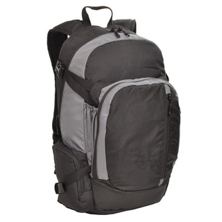 Sandpiper Ridgeline Backpack, Black and Light Grey