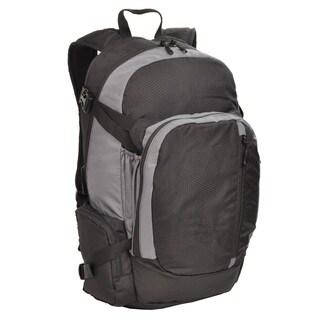 Sandpiper Ridgeline Backpack, Black and Light Grey